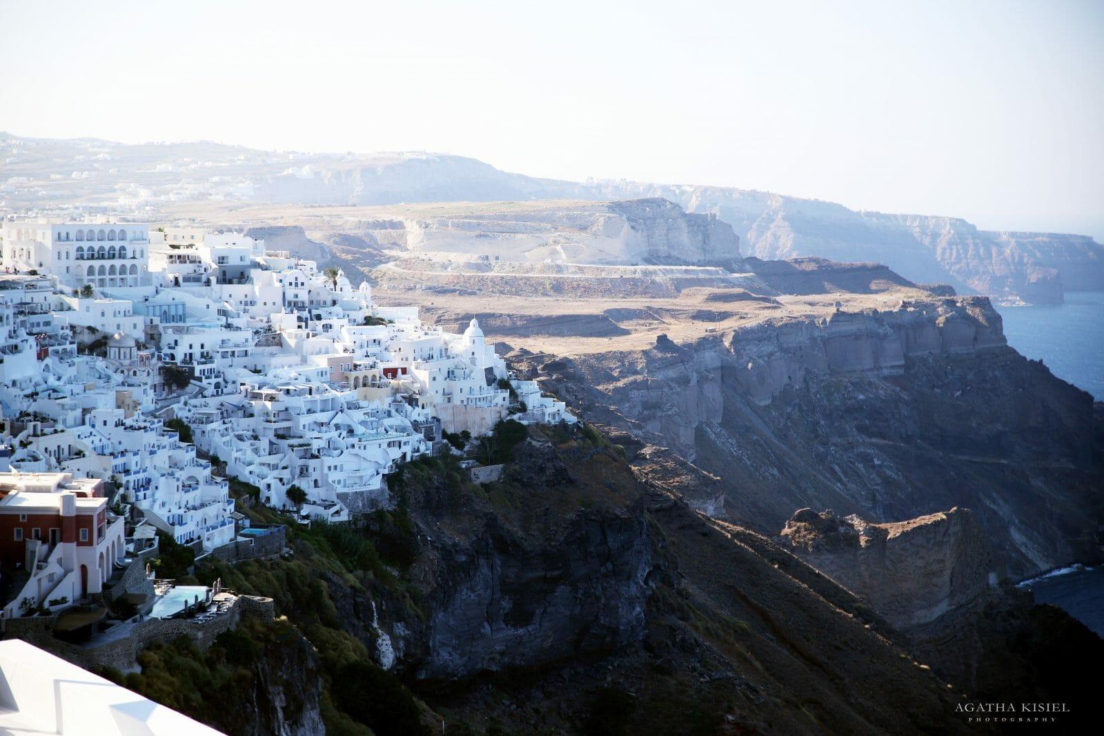 Travel Photography Santorini Greece Fira