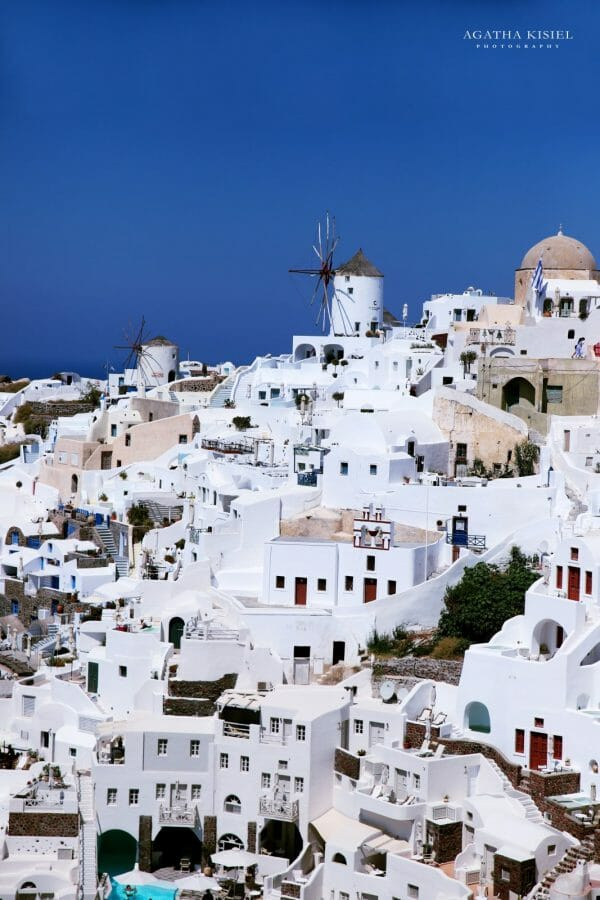 Travel Photography Santorini Greece Oia