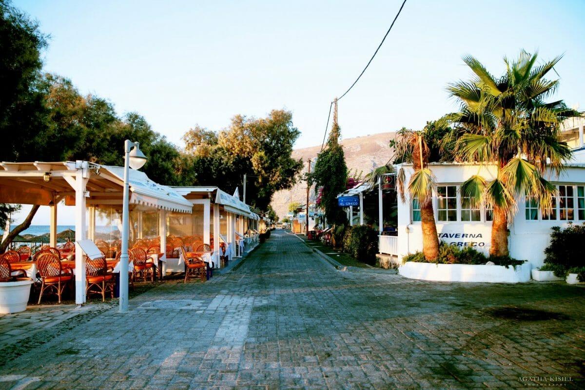 Travel Photography Santorini Greece Kamari Beach
