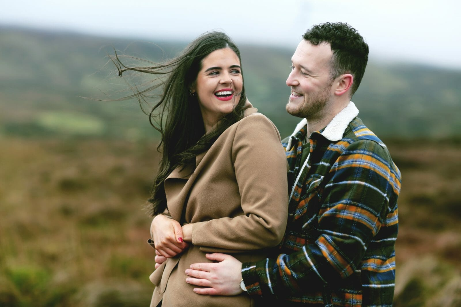 Engagement photoshoot northern ireland